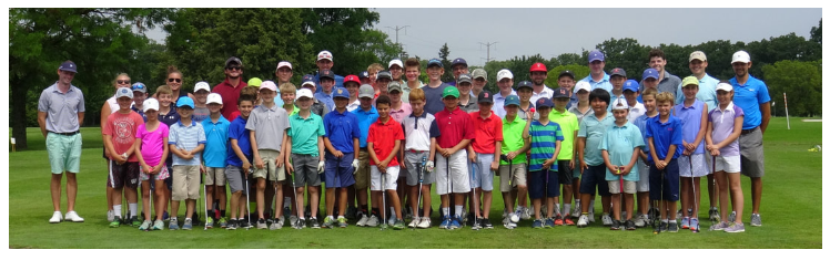 Junior golf group photo